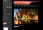 Houston Photographer Patrick Bertolino custom site design wordpress theme