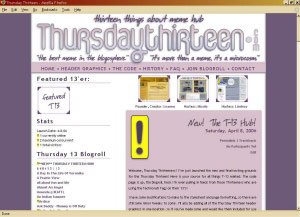 thursday thirteen official hub