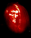 Pumpkin Carving Evil Witch by John Anderson