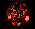 Pumpkin Carving I find your lack of treats disturbing by Rob Hardin