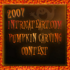 intricateart.com 2007 third annual pumpkin carving contest link