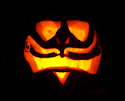 Pumpkin Carving Cheshire Cat by Michael