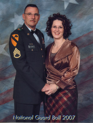 national guard ball portrait