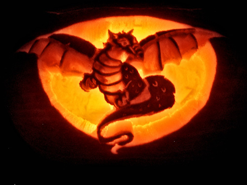Leanne Wildermuth : Artist by Nature » 2007 Pumpkin Carving ...