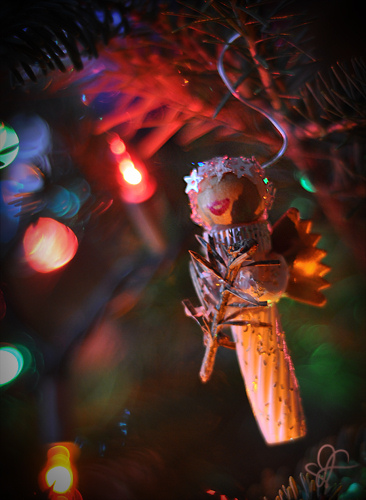 noodle angel ornaments handmade photo by Leanne Wildermuth