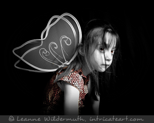 Fairy girl photography by Leanne Wildermuth
