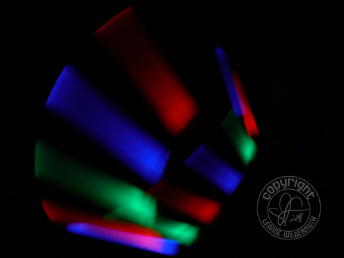 glow stick motion leanne wildermuth