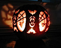 Pumpkin Carving Spooky Forest by Jamie Stepp