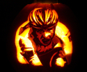 matt curran lance armstrong pumpkin carving