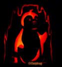 bruce neopets penquin pumpkin carving