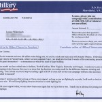 hillary clinton campaign funds solicitation