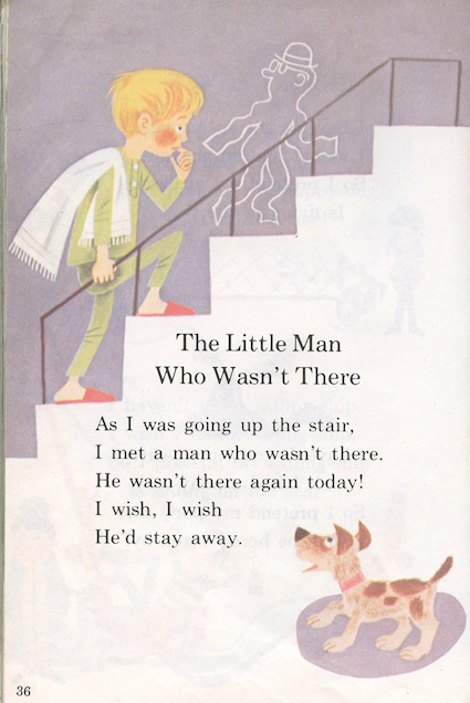 the little man who wasn't there poem